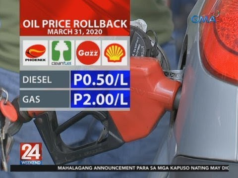 24 Oras: Oil price rollback