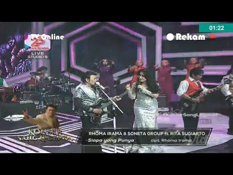 Rhoma Irama ft Rita Sugiarto Konser Sang Lagenda