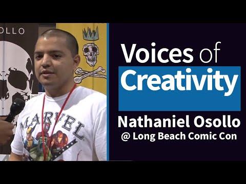 Voices of Creativity - Nathaniel Osollo at Long Beach Comic Con 2014