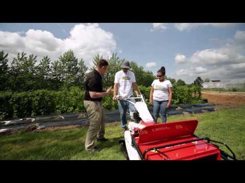 An Organic Farm Tests the Cyclone Track Flail Mower