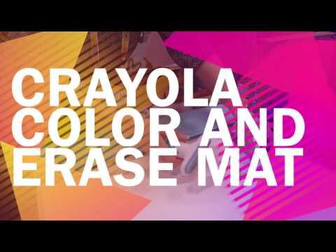 Crayola Color and Erase Mat - TOY FAIR 2017