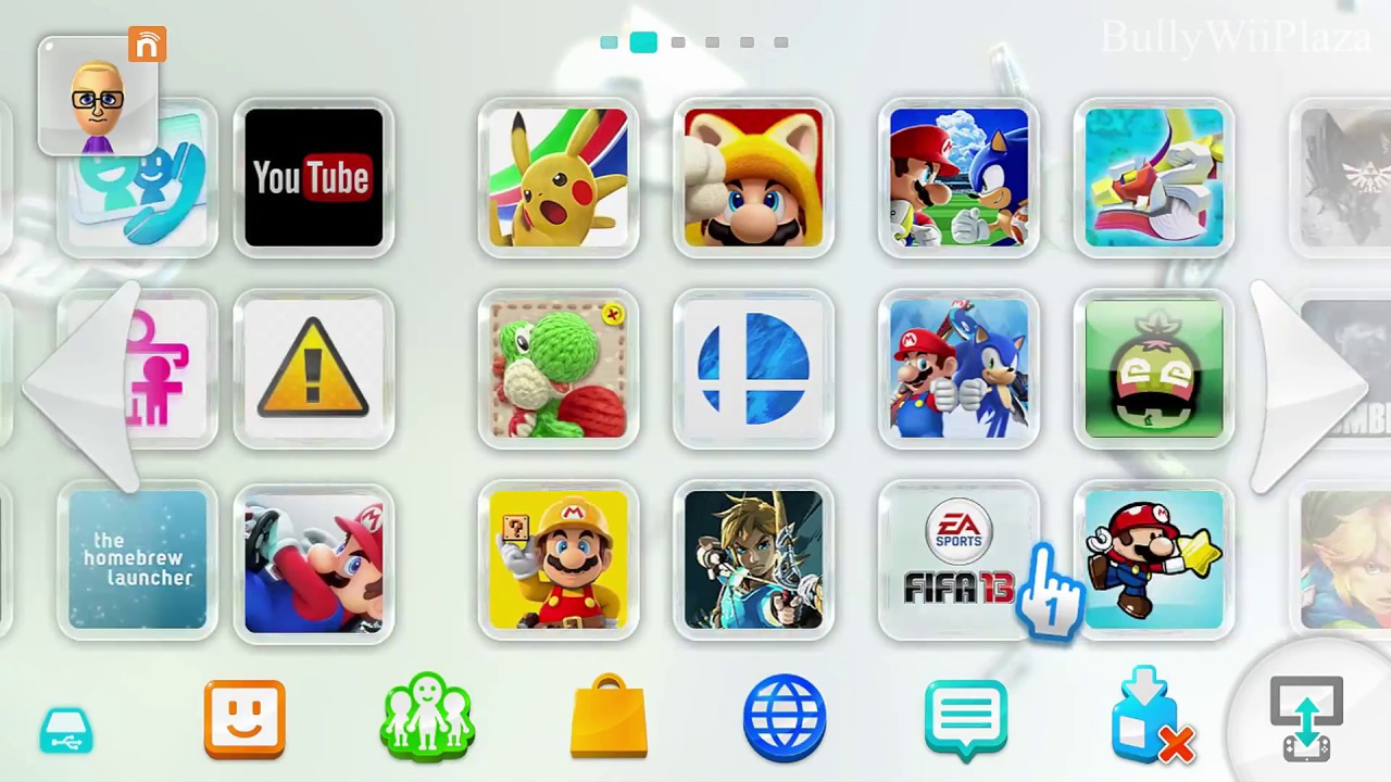 Wii U My Intermediate Digital Games Collection Youtube