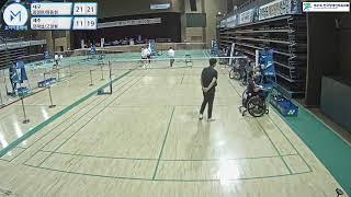 제41회 전국장애인체육대회 [배드민턴] 1일차 5코트f…