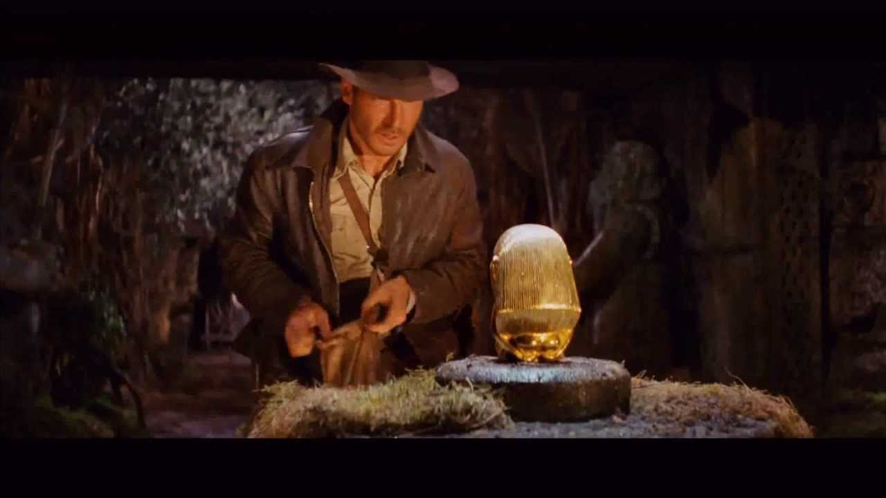 Indiana Jones Raiders Of The Lost Ark - Famous Scene - YouTube 1f0d82ab4078