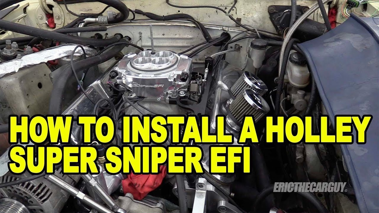 Video: How to Install a Holley Sniper EFI System