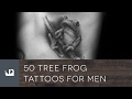 50 Tree Frog Tattoos For Men