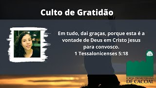 Culto de Gratidão