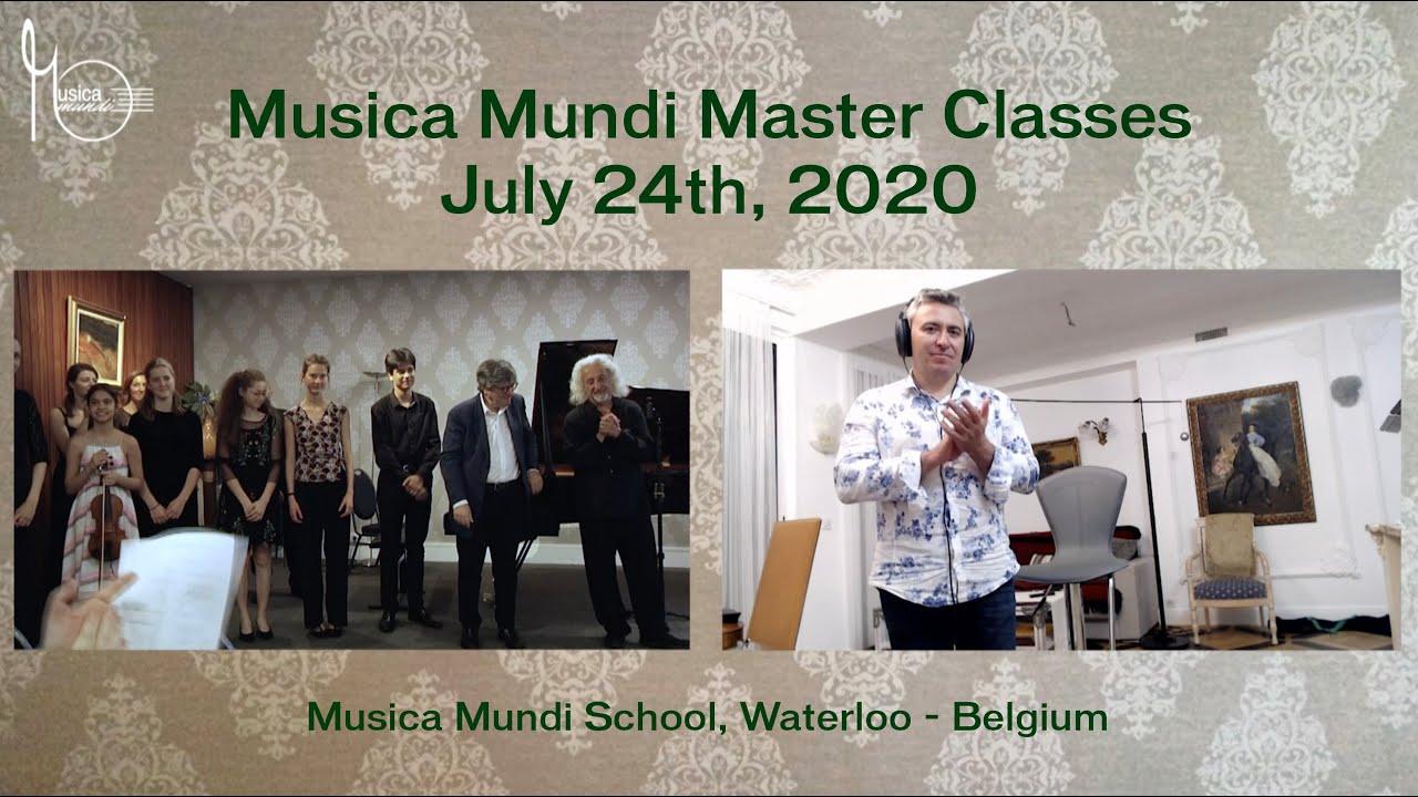 3 Legendary Musicians in Master Class