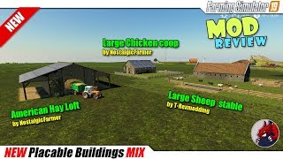 "[""BEAST"", ""Simulators"", ""Review"", ""Timelapse"", ""Let'sPlay"", ""FarmingSimulator19"", ""FS19"", ""FS19ModReview"", ""FS19ModsReview"", ""American Hay loft"", ""Large Chicken coop"", ""Large Sheep stable"", ""Placable Buildings Mix""]"