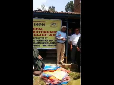 Earthquake  victims relief activities by JET Nepal