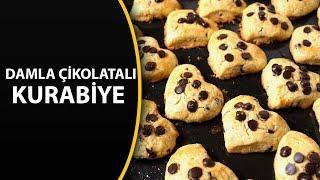 Damla çikolatalı kurabiye tarifi - Kolay kurabiye tarifleri
