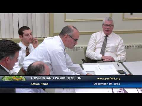 2014-12-10 PEN Town Brd Work Session