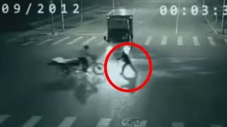 REAL SUPERHUMAN Teleportation caught on CCTV in China
