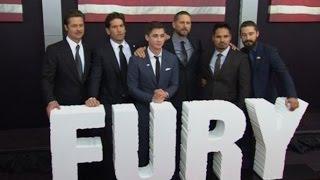Брэд Питт и Шайя Лабаф представили в Нью-Йорке фильм «Ярость» (новости) http://9kommentariev.ru/