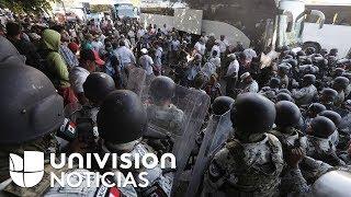 AMLO niega que la Guardia Nacional cometiera abusos contra migrantes en la frontera sur de México
