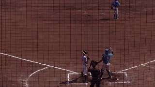 鹿児島ドリームウェーブ・野中佑樹投手 vs ビッグ開発ベースボールクラブ・神谷涼外野手