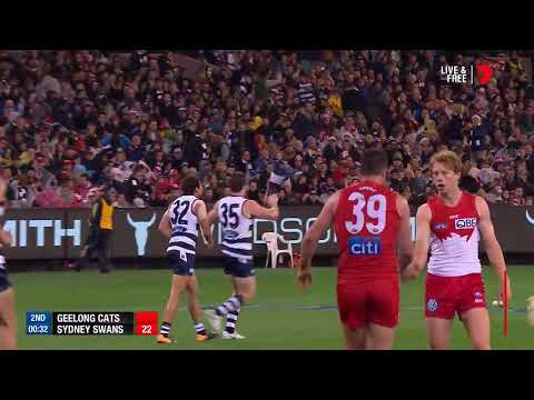 Highlights: Geelong Cats v Sydney Swans