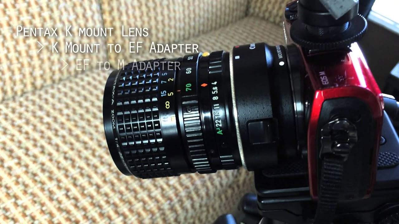 how to use old lenses on your eos m body wrench 4 custom function rh youtube com nikon manual lenses on canon eos Canon Zoom Lens
