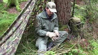 Kochen im Schwarzwald: Reispfanne mit Speck, Waldpilzen und fritierten Kohlblättern