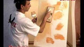 Нанесение декоративной штукатурки РИВЬЕРА. Видео(Все декоративные покрытия на сайте CLAVEL-SPB.RU., 2010-10-24T12:45:03.000Z)