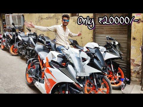 KTM Bikes in Cheap Price !🔥| Only ₹20000/- | BIKE MARKET | DELHI | Tushar 51NGH