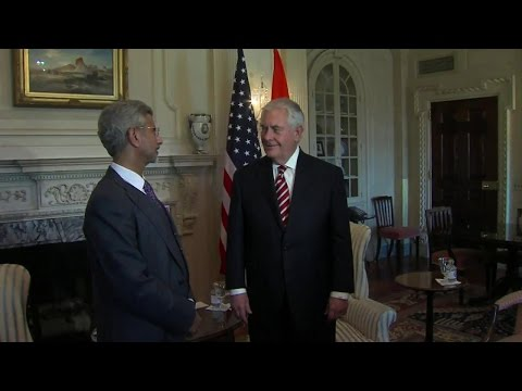 Secretary Tillerson Meets with Indian Foreign Secretary Jaishankar