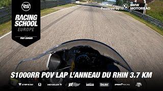 BMW S 1000 RR POV lap in Circuit de L'Anneau du Rhin (FR) 3.7 KM