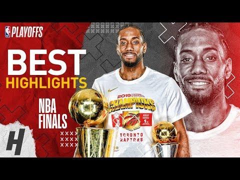 Kawhi Leonard Full MVP Series Highlights Vs Warriors | 2019 NBA Finals