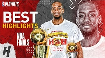 Kawhi Leonard Full MVP Series Highlights vs Warriors | 2019 NBA Finals