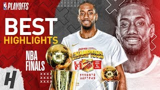 Kawhi Leonard Full MVP Series Highlights vs Warriors | 2019 NBA Finals Video