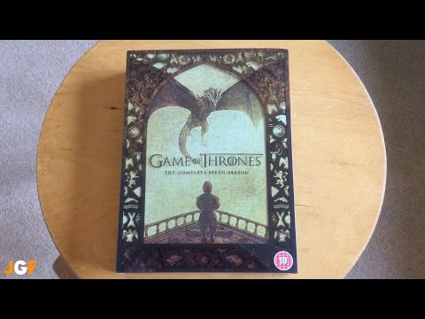 Game Of Thrones Season 5 Unboxing