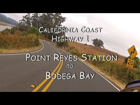 California Coast Motorcycle Ride: Point Reyes Station to Bodega Bay