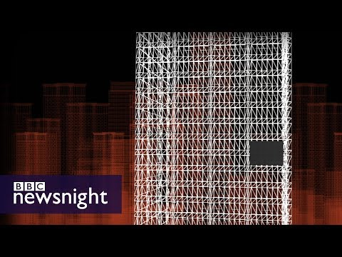 Concerns about cladding on UK buildings – BBC Newsnight