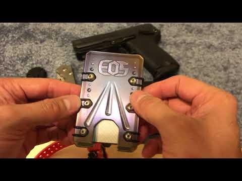 EOS Cases titanium wallet and EDC update