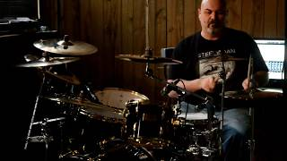 Molly Hatchet Flirtin With Disaster Drum Cover - Pearl Masters Studio Drums