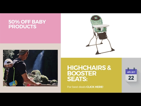 Highchairs & Booster Seats: Highchairs 50% Off Baby Products