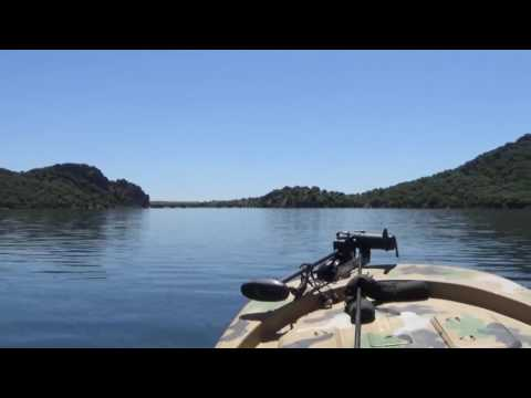 Catchcarpspain.com Trip down Lake Orellana