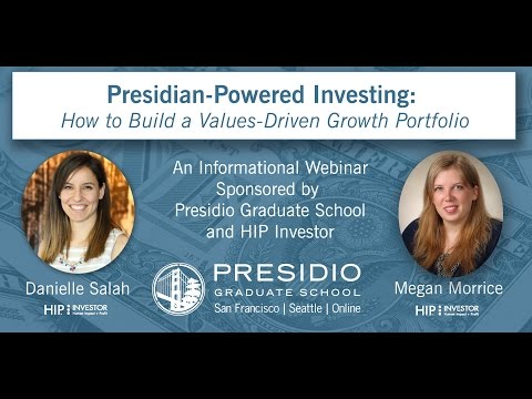 Presidian-Powered Investing: How to Build a Values-Driven Growth Portfolio