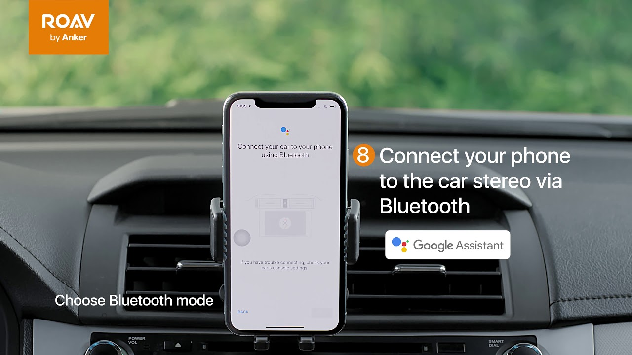 How to Set Up Roav Bolt for iOS—Bluetooth