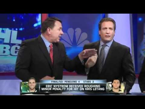 Mike Milbury and Jeremy Roenick don't like each other