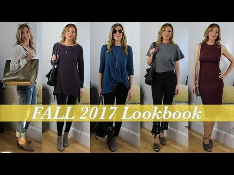 Fall Style Ideas for Women Over 50! Lookbook Fall 2017