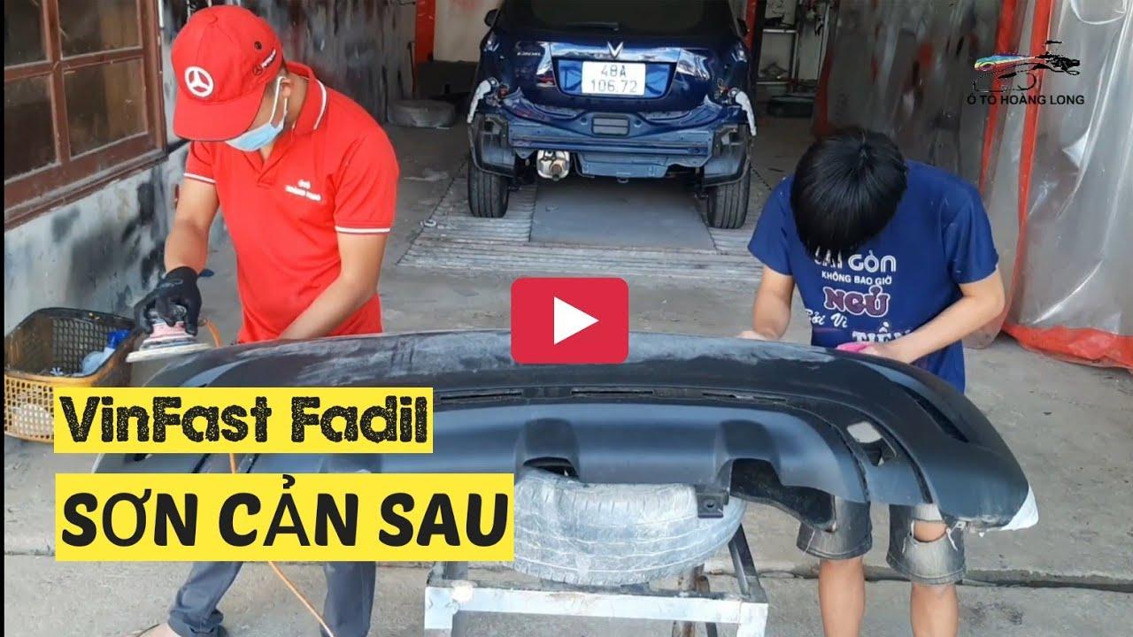 Photo of sơn đổi màu xe ô tô – SƠN MÀU CHO CẢN SAU – VINFAST FADIL TRONG 5 PHÚT | Ô TÔ HOÀNG LONG [Mới Cập Nhật]