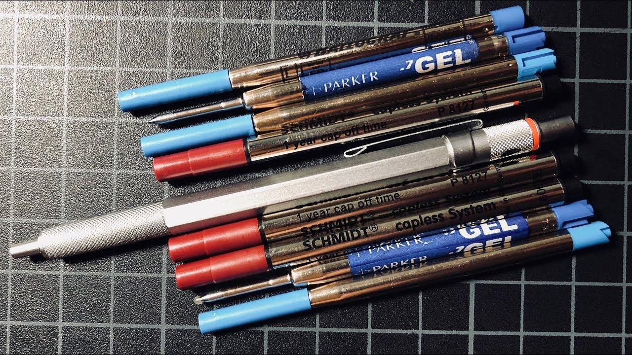 Parker Premier Luxury Brown PGT fountain pen review - YouTube