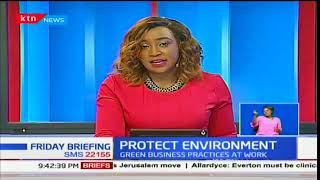 Environmental experts from Germany meet with Kenyan experts on matters sustainability