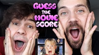 GUESS THE MOVIE SCORE CHALLENGE with David Dobrik and Ugh It's Joe