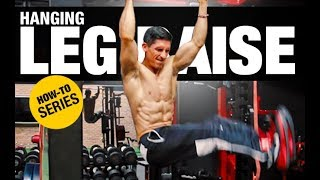 Hanging Leg Raise | HOW-TO