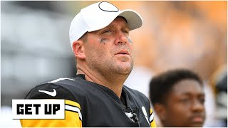 """The get up crew names pittsburgh steelers as """"biggest loser"""" of nfl teams this year. they discuss possibility quarterback ben roethlisberg..."""