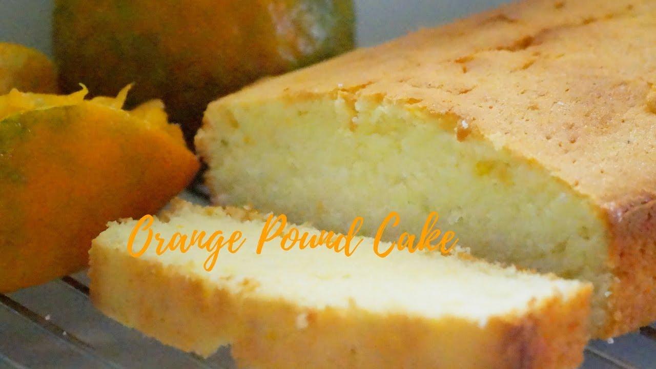 Orange Chiffon Cake Recipe Youtube