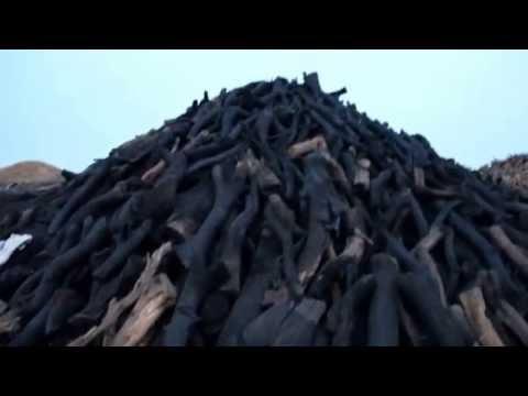 Mangal Kömürü, Saba Kömürcülük
