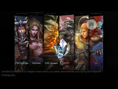 Vainglory Indonesia Private Draft Friendly Match  (SEA Server)